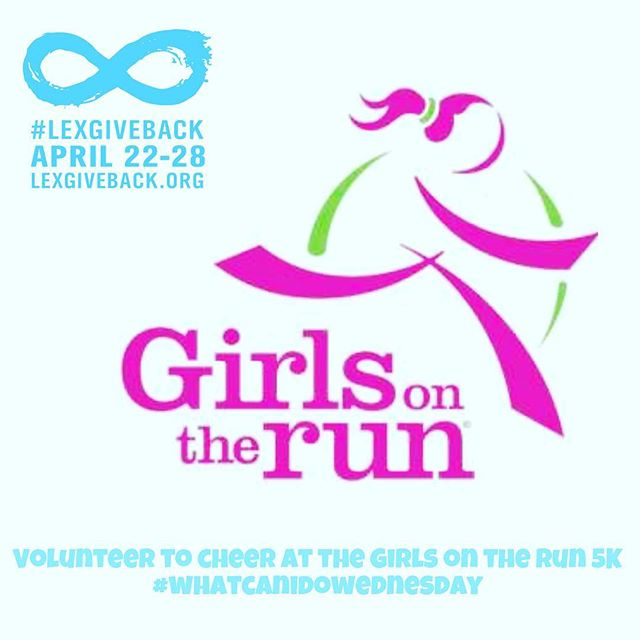 """Trying to find something to do for #lexgiveback? Sign up to volunteer at a cheer station for the upcoming  @gotrcentralky 5k. Their event information is listed on our website (www.lexgiveback.org). Click on the """"volunteer"""" link for individuals to see this opportunity and others!  #whatcanidowednesday"""