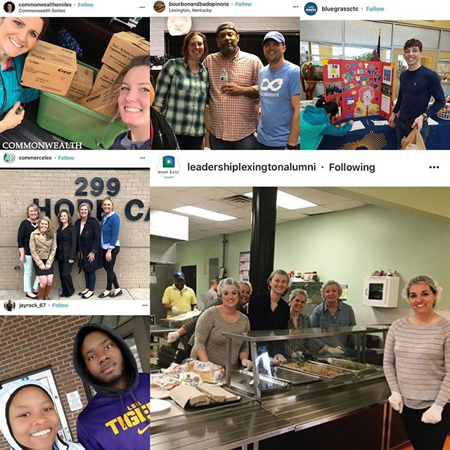 We've got #lexgiveback all over the place! So proud of our community and all the compassionate acts. We have seen lots of donations, volunteering, meal service. Keep it up! #sharethelex