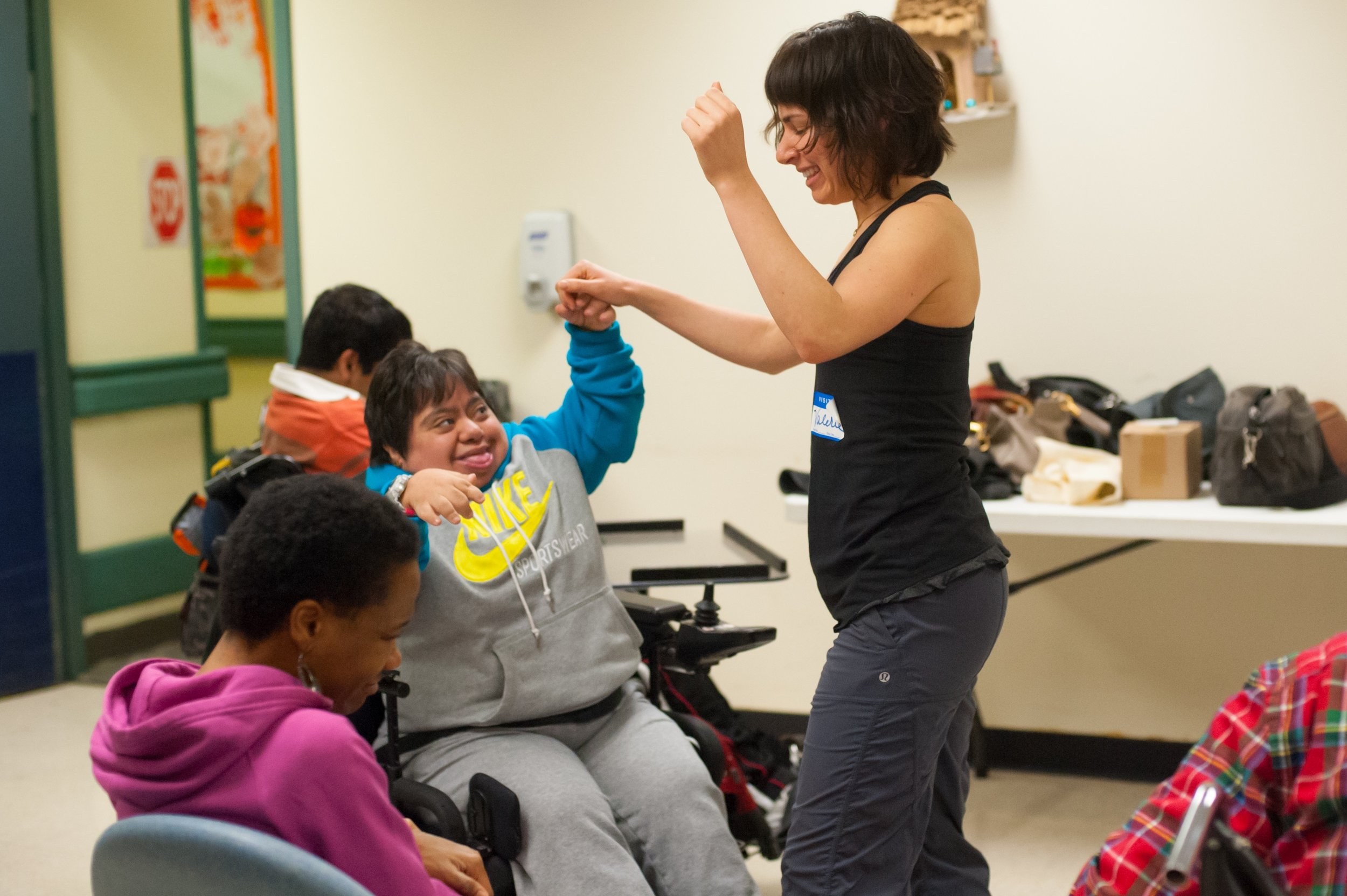 Teaching for Sing For Hope at United Cerebral Palsy