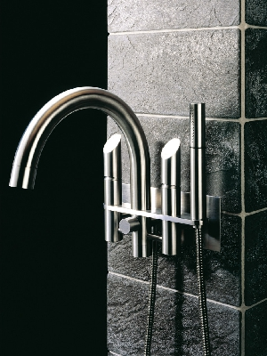 mgs milano wall mount tub filler with handshower in polished chrome - the ultimate guide to luxury plumbing by the delight of design