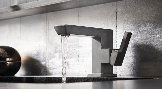 brizo single hole side handle concrete lav faucet in black - the ultimate guide to luxury plumbing by the delight of design