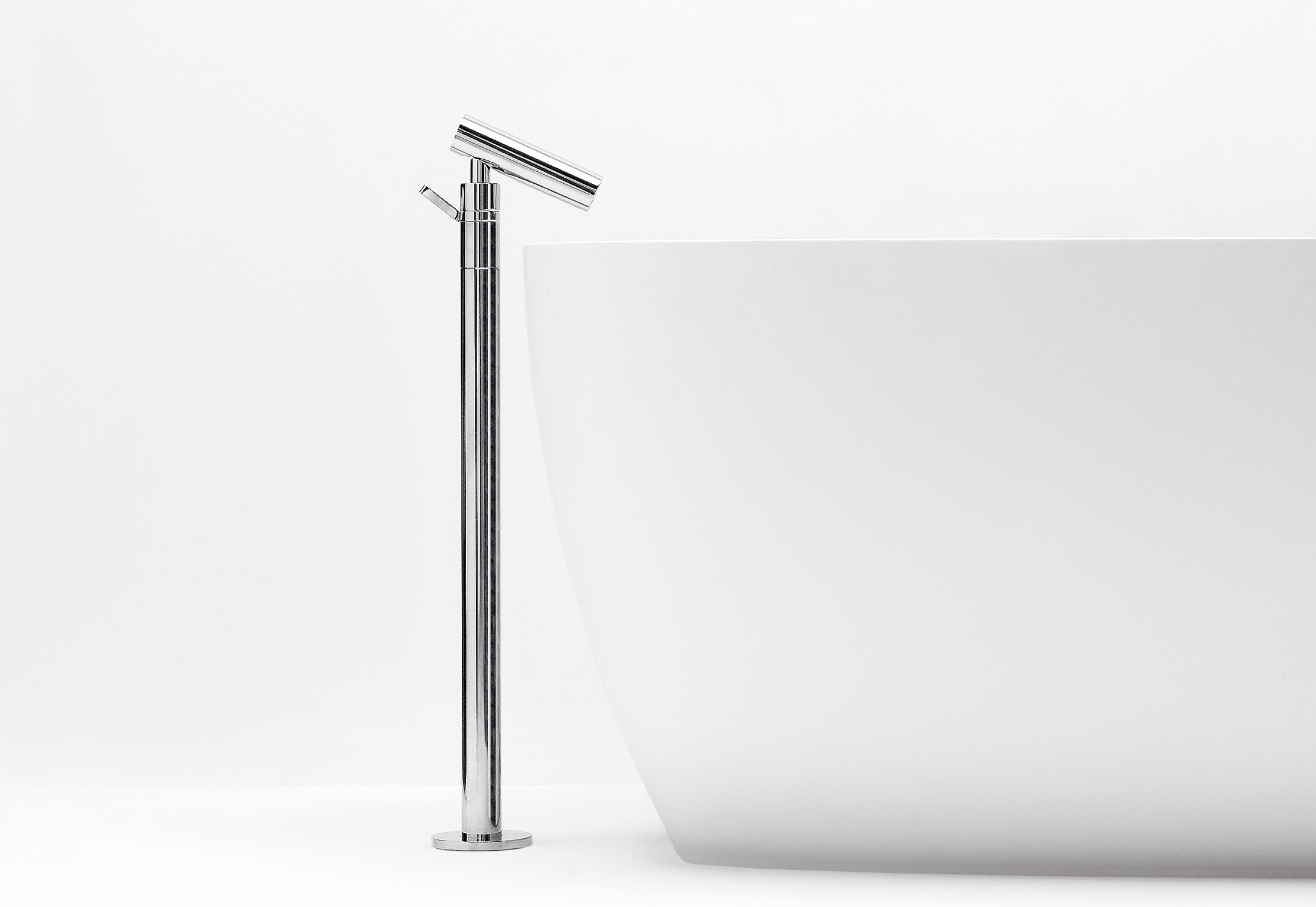 agape contemporary minimalist freestanding tub filler with 35 degree spout and lever handle in polished chrome - the ultimate guide to luxury plumbing by the delight of design