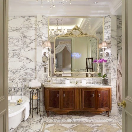 czech & speake classical bathroom suite with porcelain lever handles in polished chrome and clawfoot tub - the ultimate guide to luxury plumbing by the delight of design