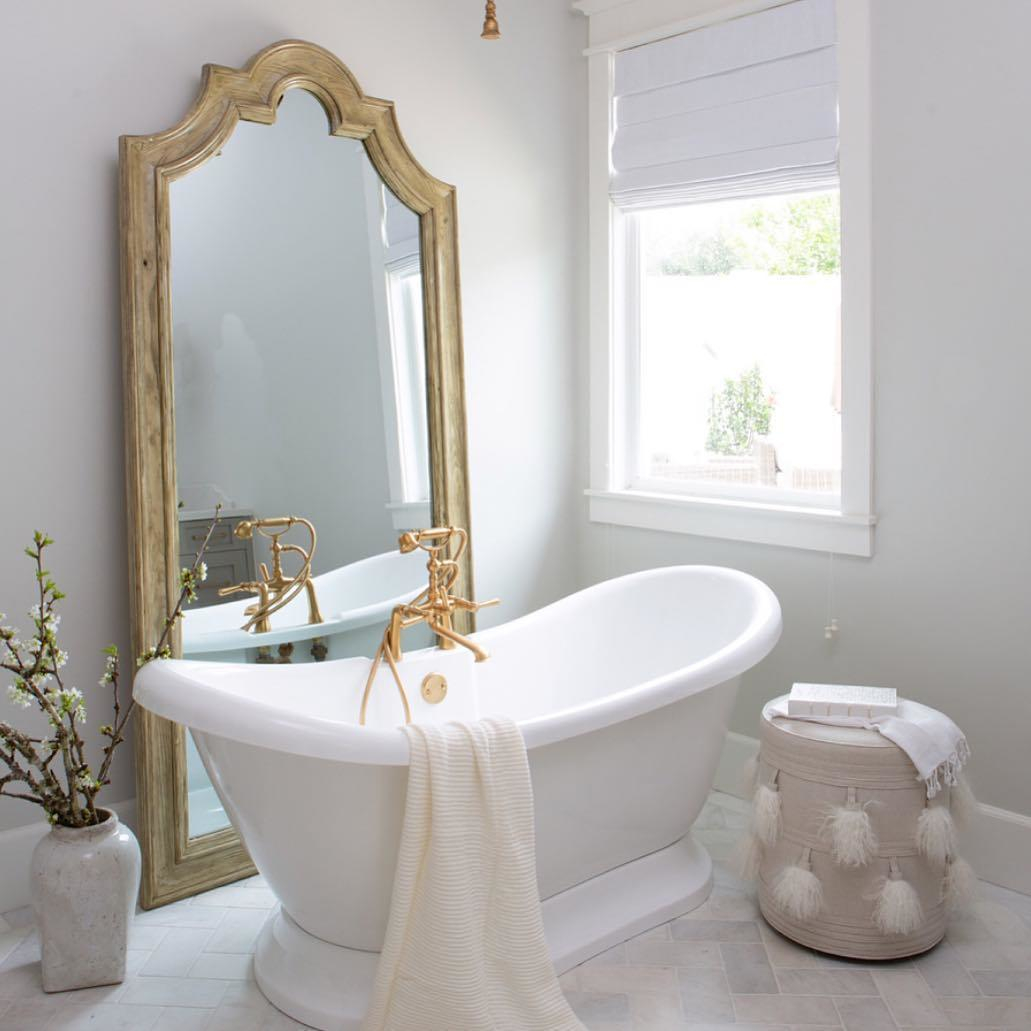 newport brass traditional freestanding deck mount tub filler with lever handles and handshower in brushed gold - the ultimate guide to luxury plumbing by the delight of design