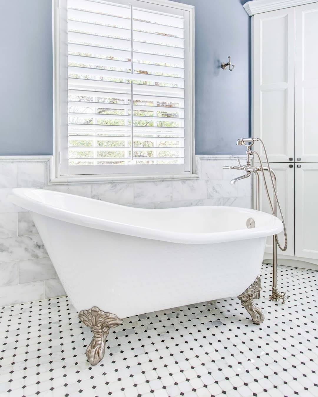 newport brass traditional freestanding clawfoot tub filler with handshower and lever handles in polished nickel - the ultimate guide to luxury plumbing by the delight of design