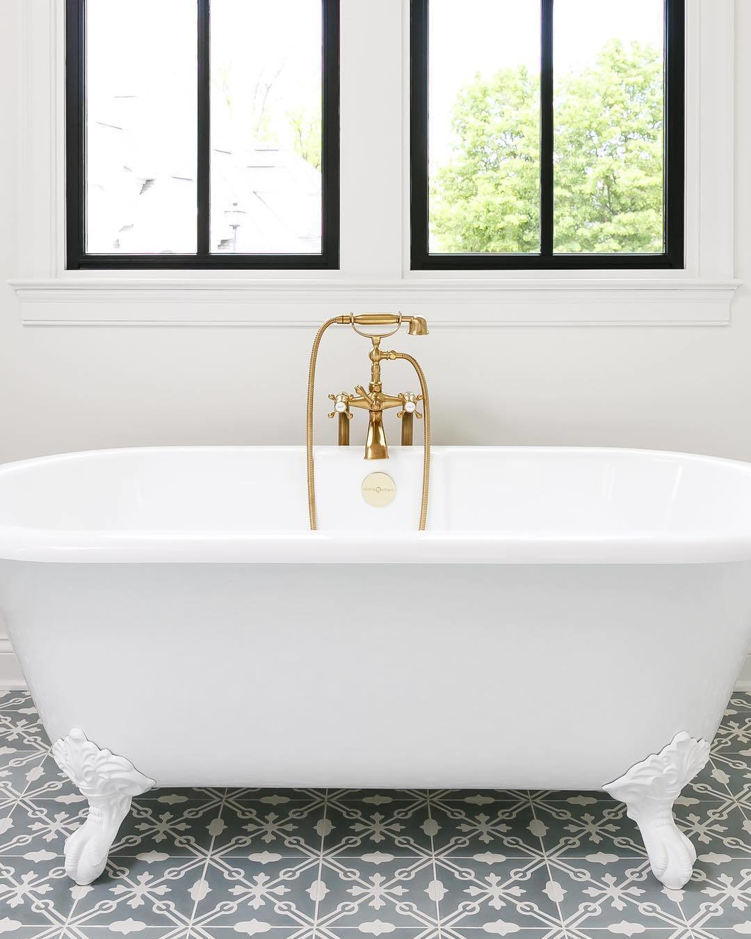 newport brass traditional freestanding clawfoot tub filler with handshower and cross handles in satin gold - the ultimate guide to luxury plumbing by the delight of design