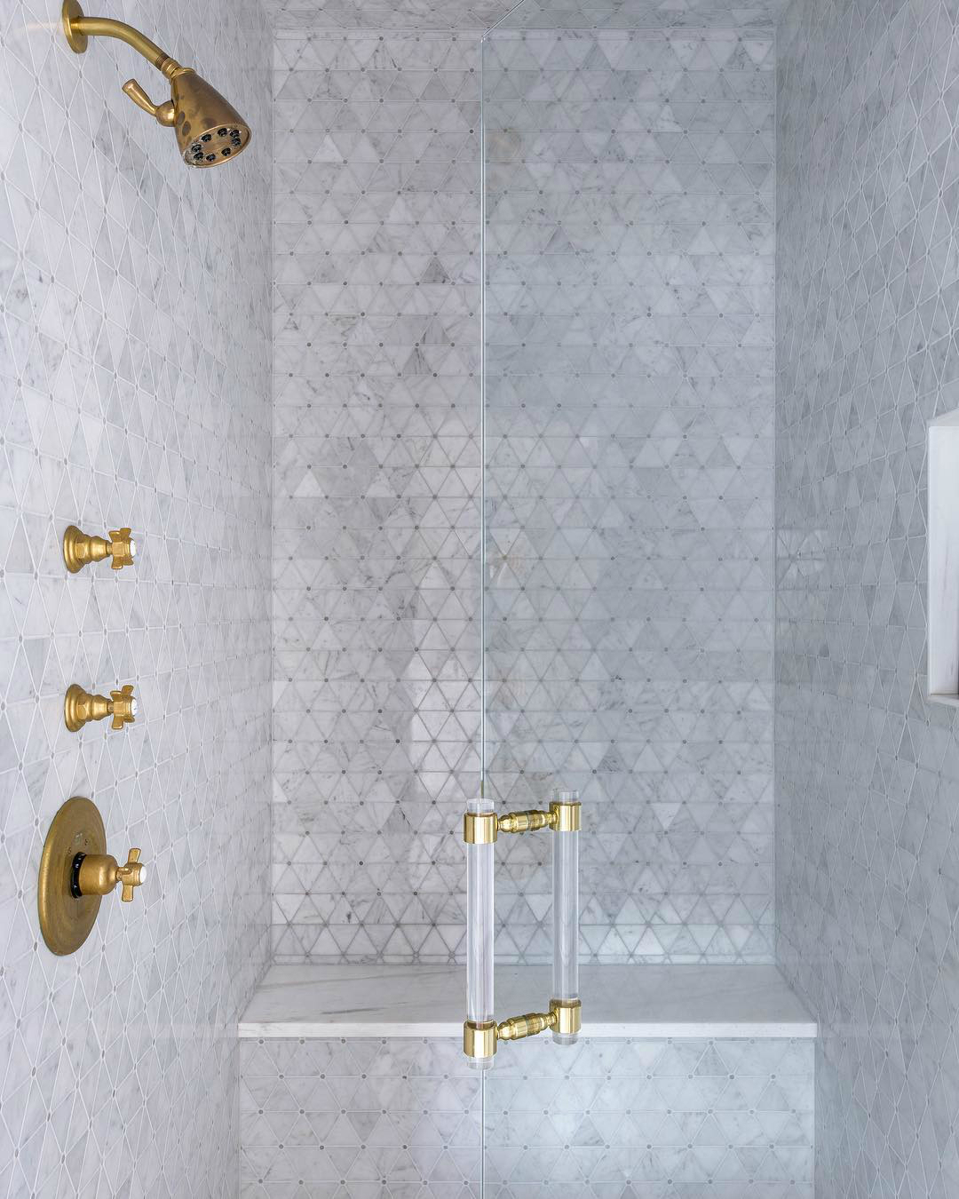 newport brass traditional shower trim with cross handles in satin gold - the ultimate guide to luxury plumbing by the delight of design