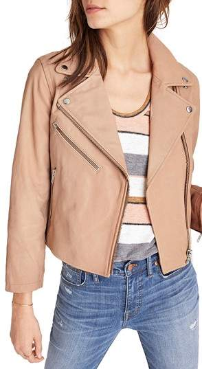 blush leather