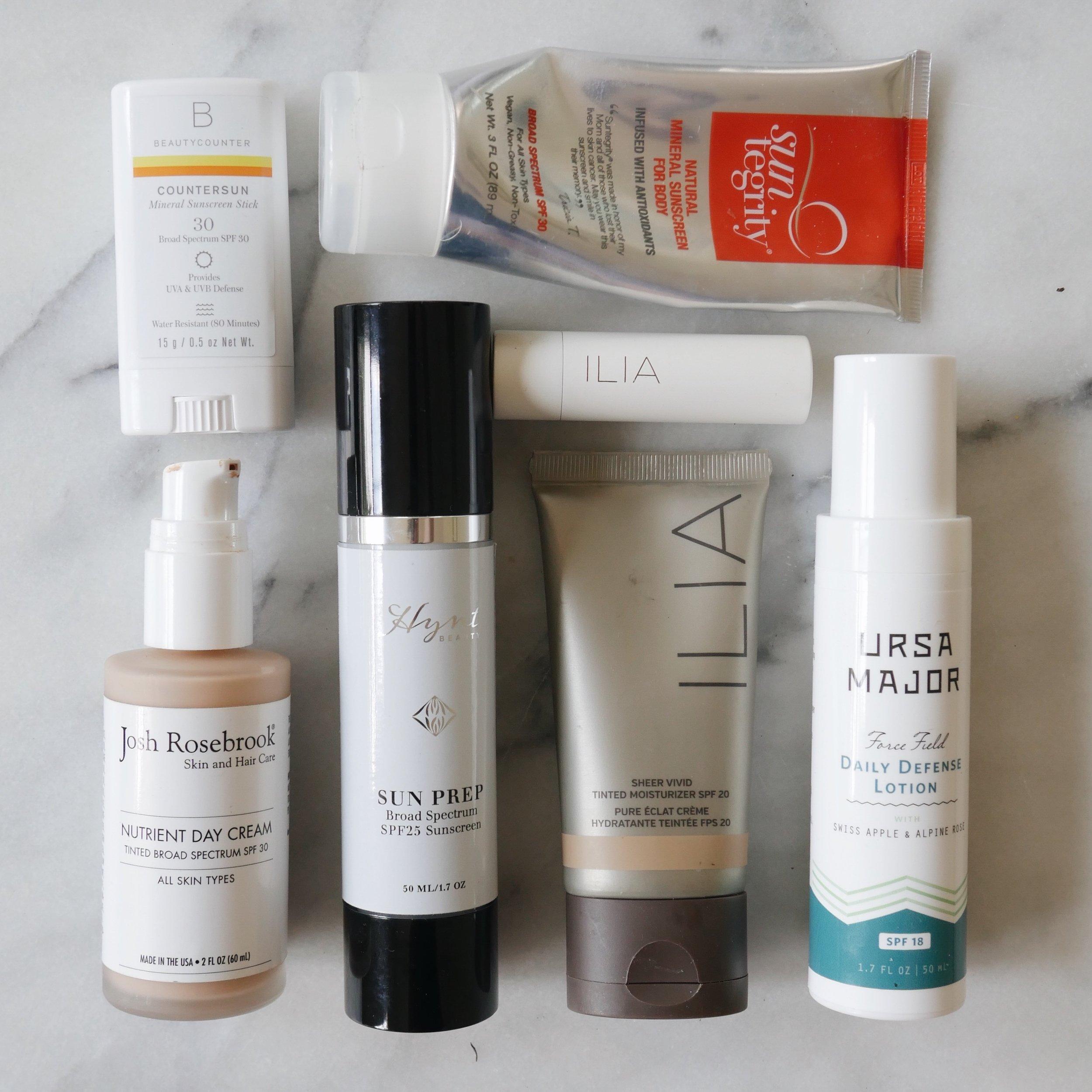 nontoxic safe clean organic sunscreen