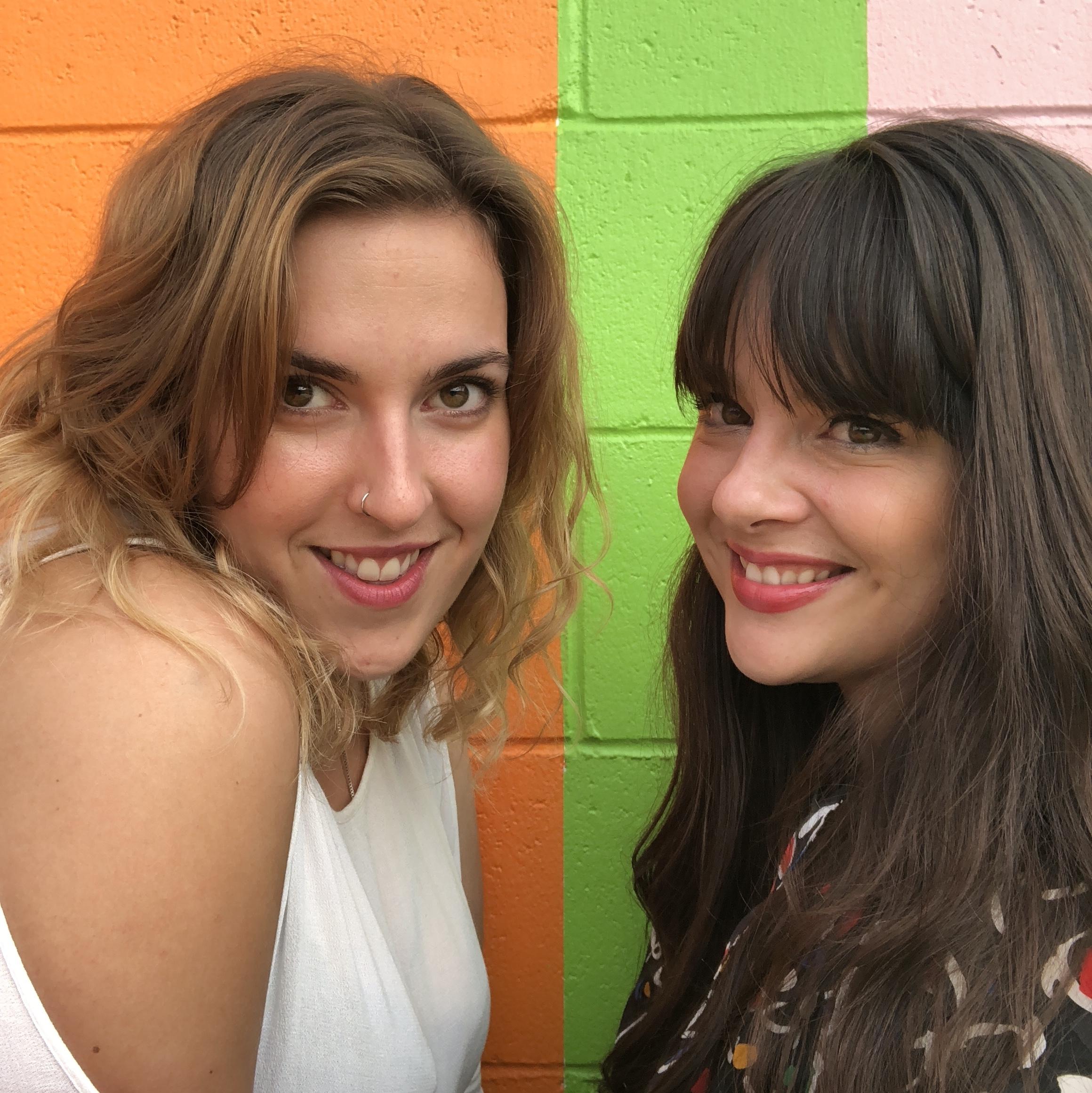 Sasha and her #ThisIsAna co-conspirator, Athena Russel.