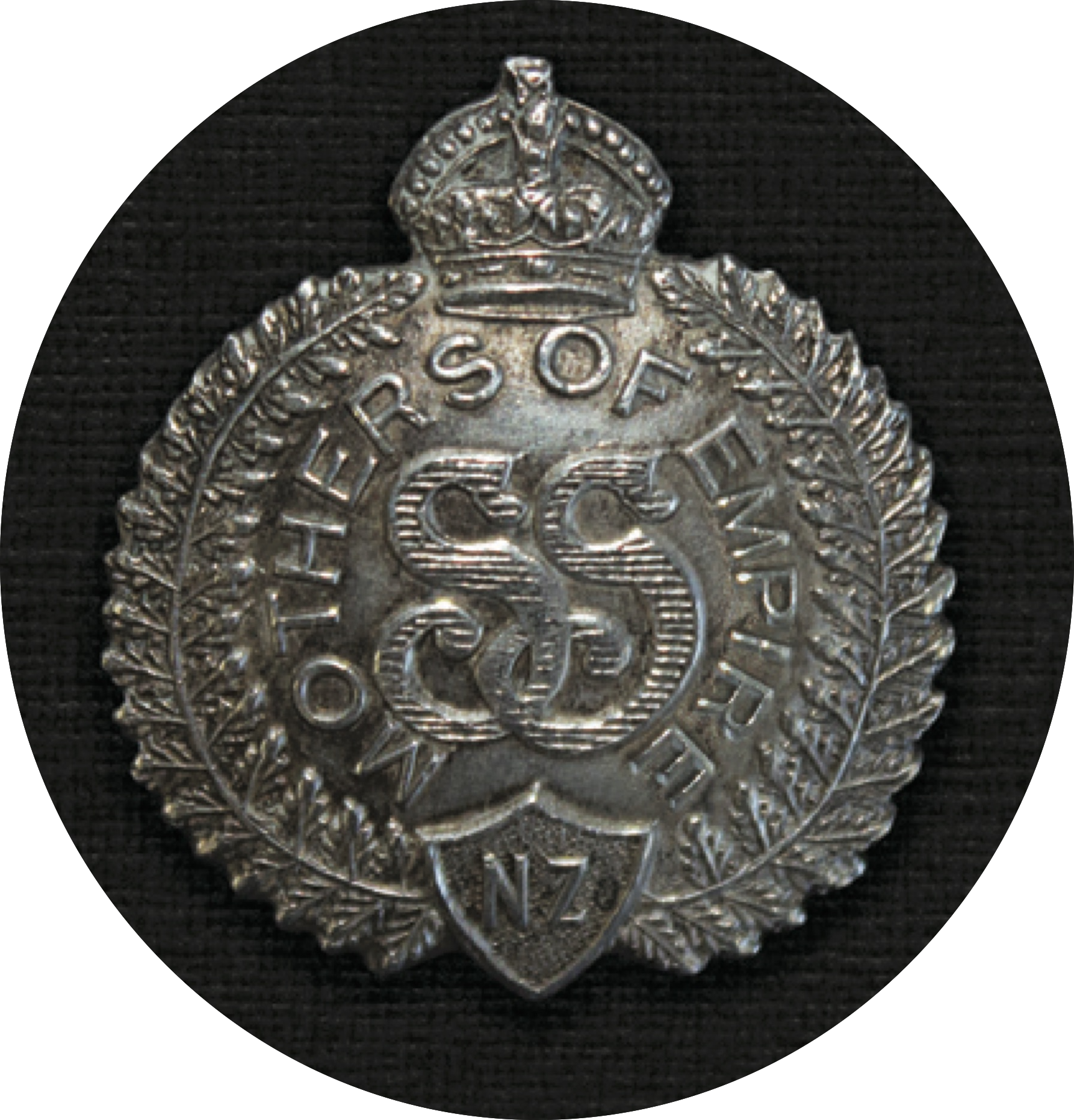A Mothers of Empire Badge