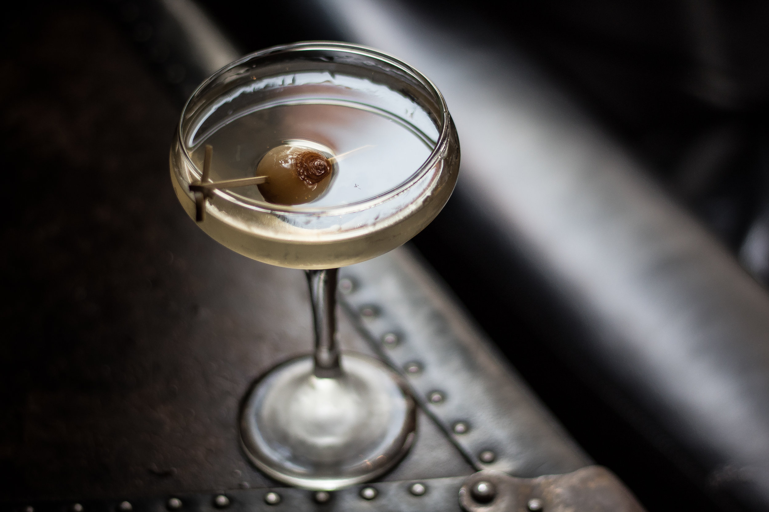Porchlight's Gibson (Martini's savory cousin)