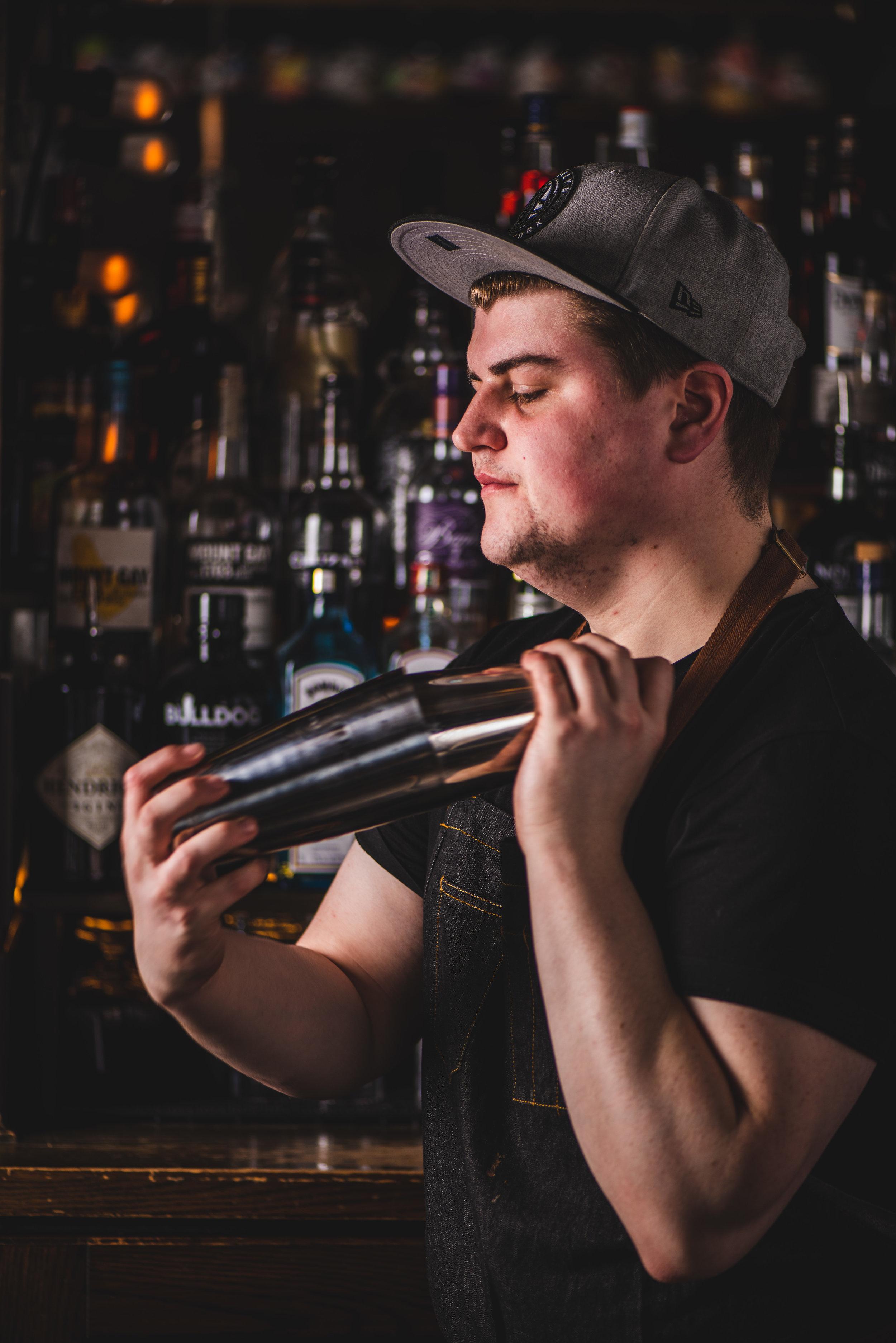 Bartender / Creative Director, Conor Myers (Courtesy of Underdog)