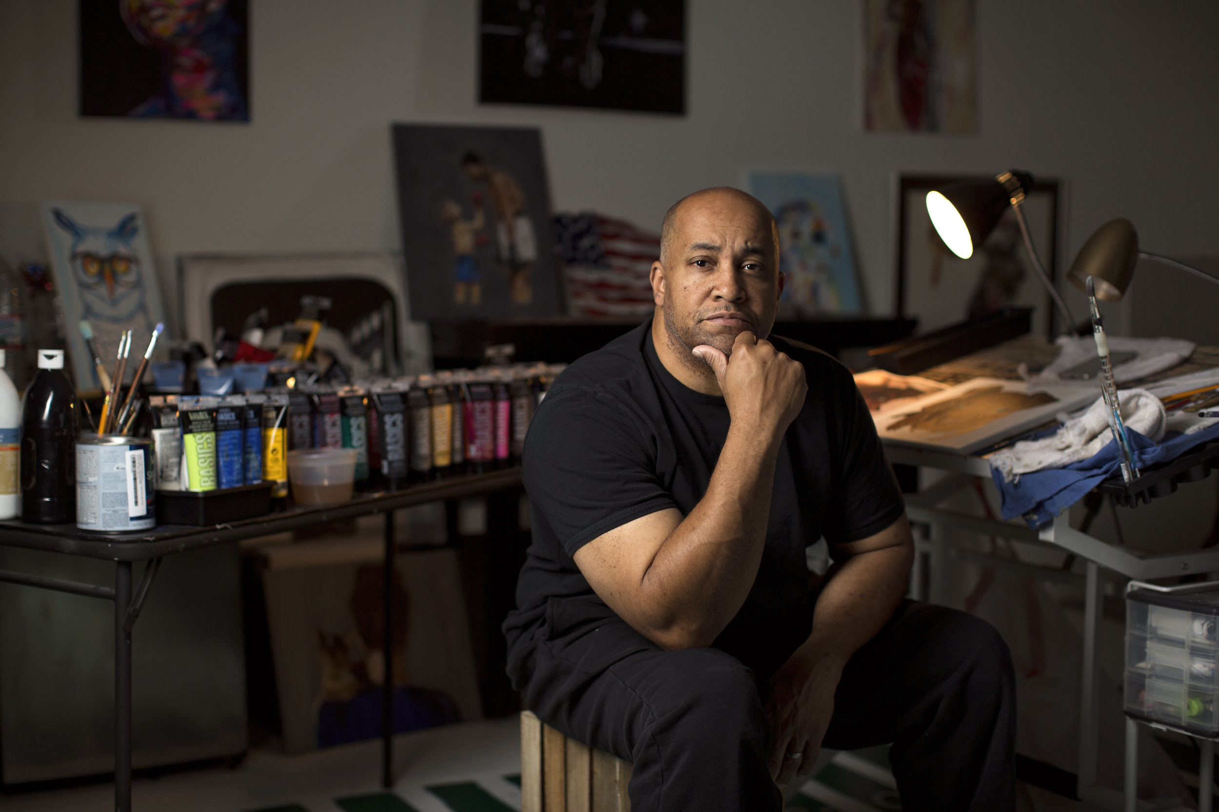 Bond Official: Keith Anderson: Woodford Reserve's First-Ever African American Artist On His 145th Derby Bottle Design