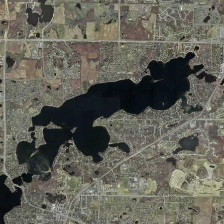 Lower Prior Lake - Surface Area:940 acresTotal Shoreline: 14.74Average Depth:14 feetMaximum Depth:56 feetHigh Water Level: 903.90 feet above sea level
