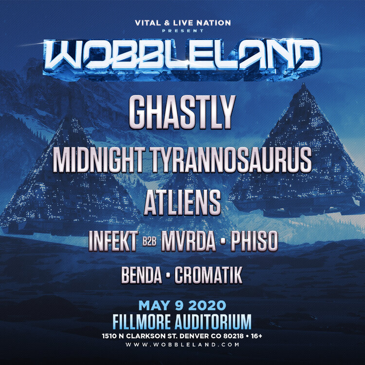 Wobbleland Denver 2020 lineup
