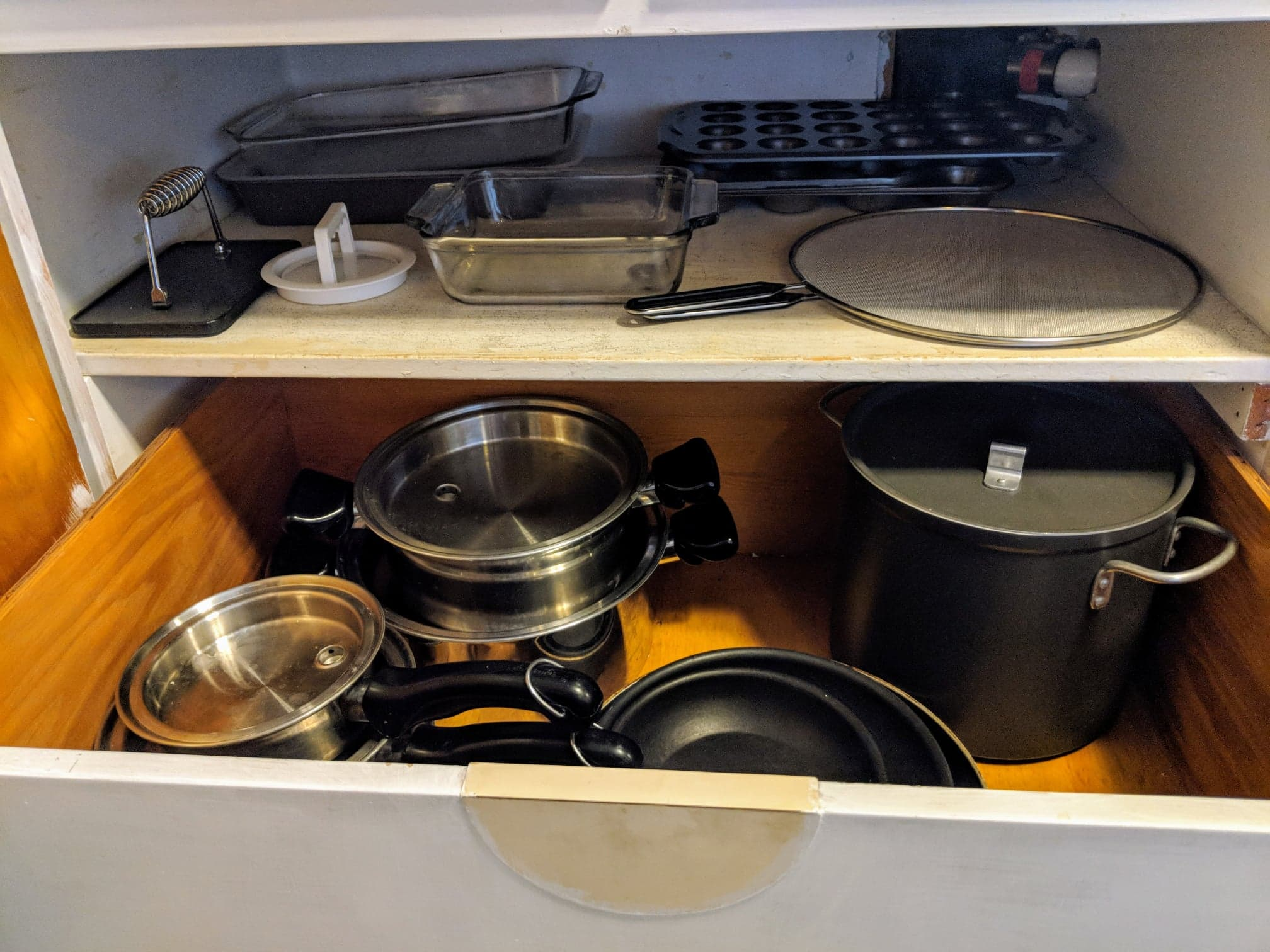 I can probably go through my pots and pans again, since i still seem to have so many