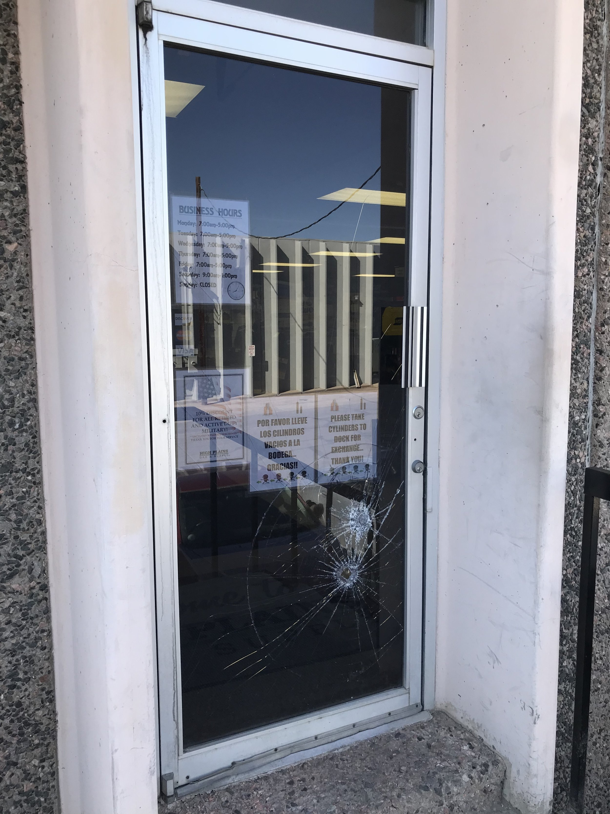 We fix broken glass in your business - We stock laminated safety glass and in some cases we can install your broken door glass the same day!