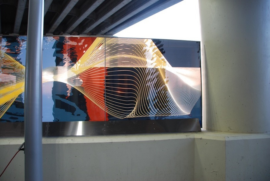 We now offer Diptech Digital Glass Design - Unlimited possibilities printed on glass.