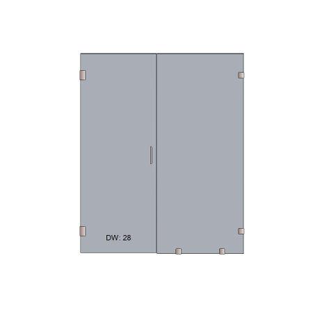 Door and inline Panel