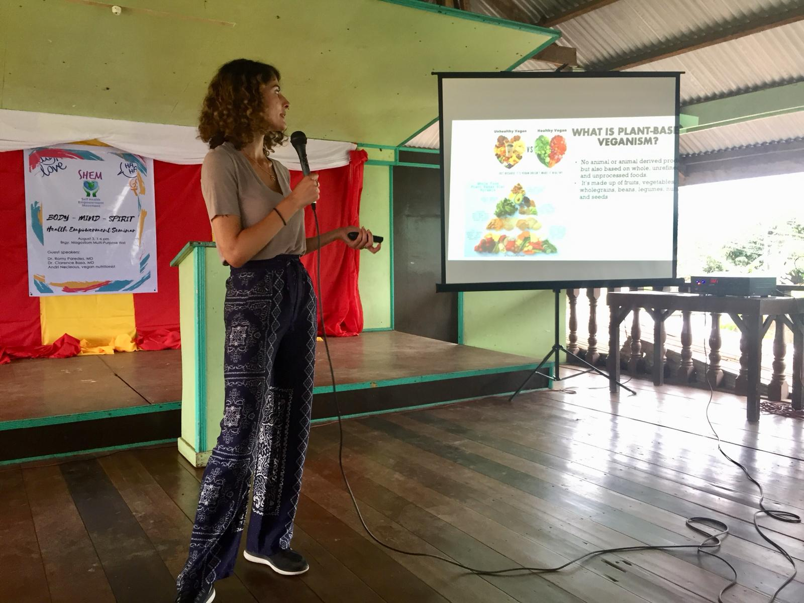 Andri, Vegan Nutritionist from London empowering people to take control of their health