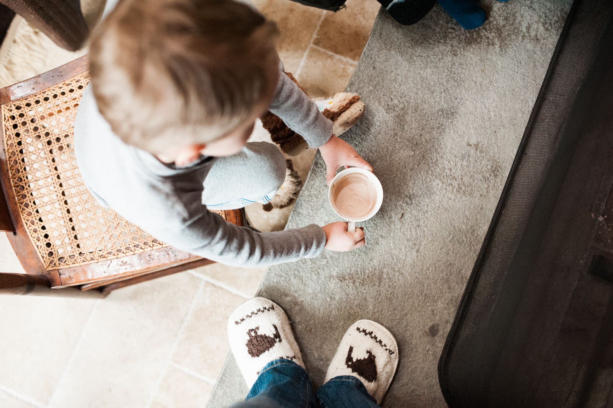 Lindsey Victoria Photography holiday traditions hot chocolate cocoa Christmas Eve family lifestyle photographer Litchfield County, CT Brooklyn New York City