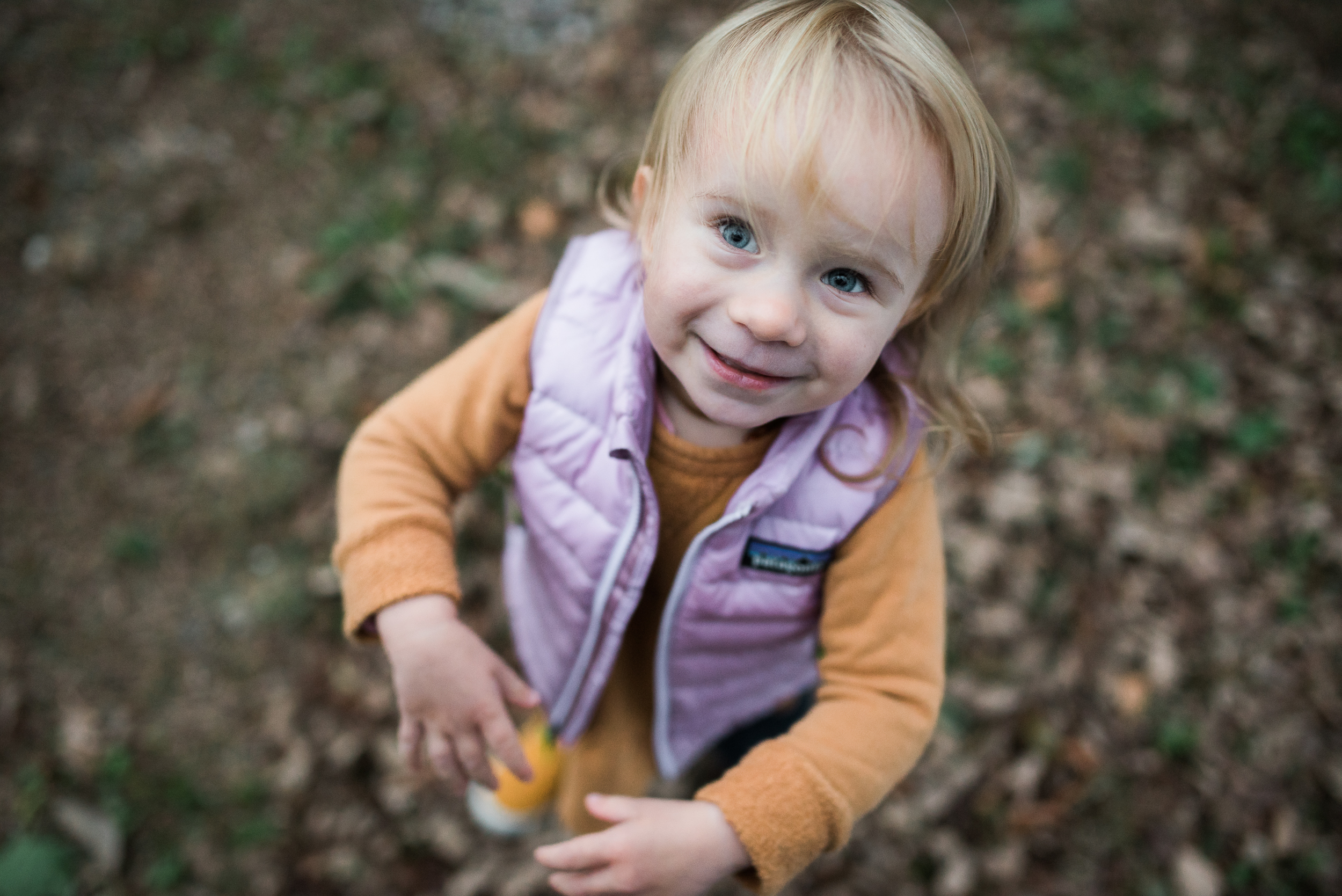 family photo of little girl what to wear fall photos Litchfield County Connecticut by Lindsey Victoria Photography