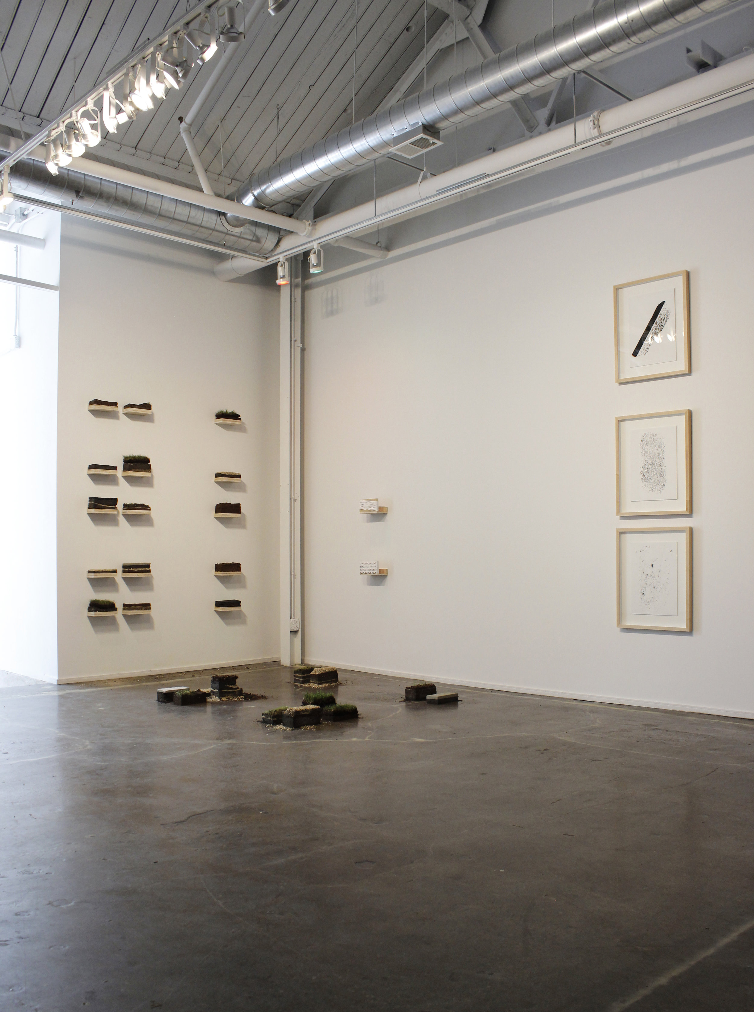 As gesture , Installation view. May 2019.