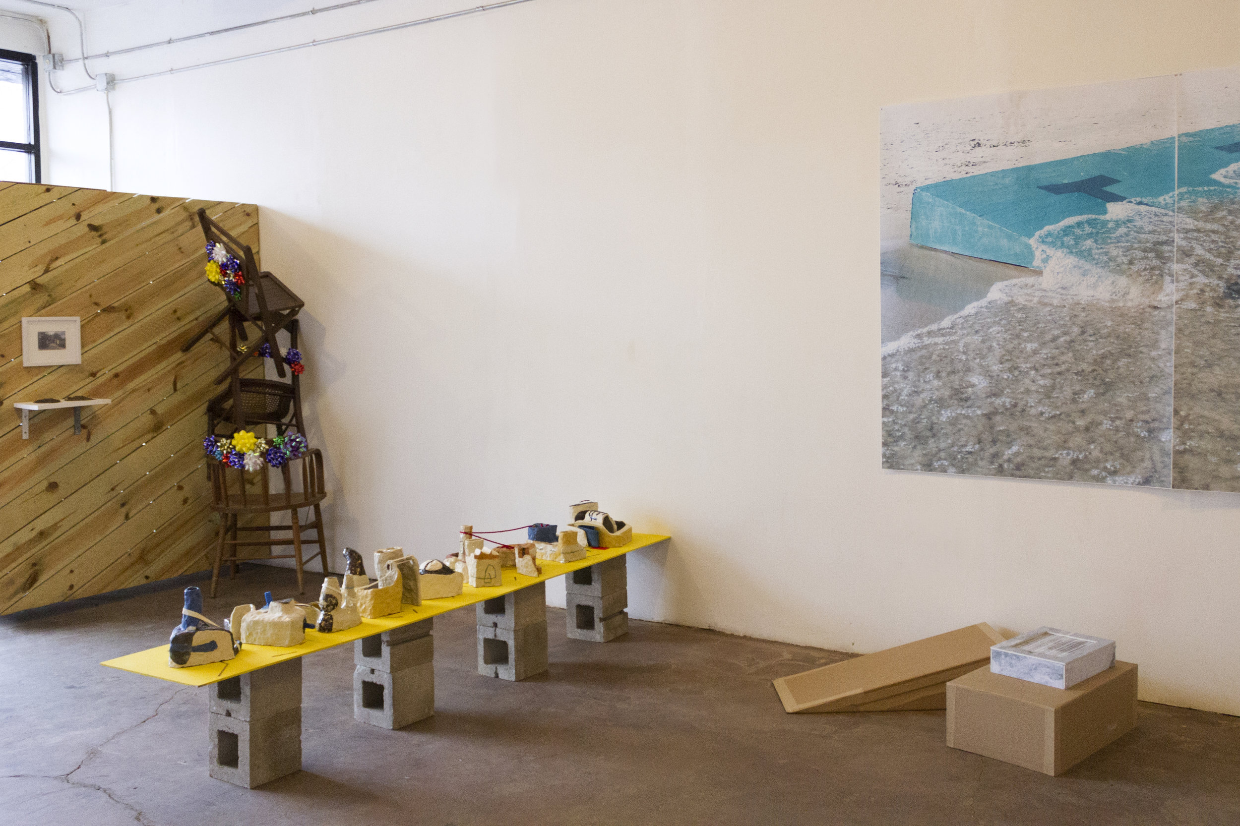Process: what it was when it wasn't . Installation view, 2018.