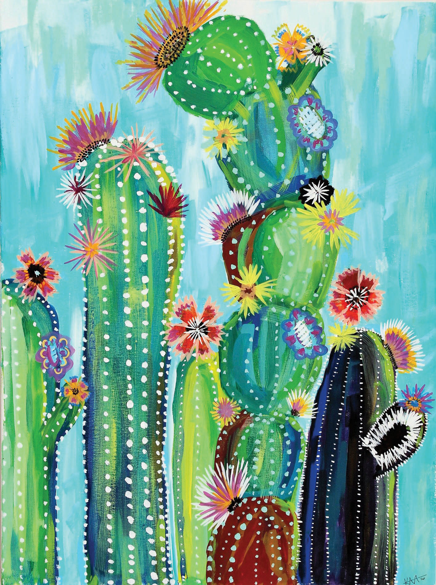 Desert Bloom-SOLD