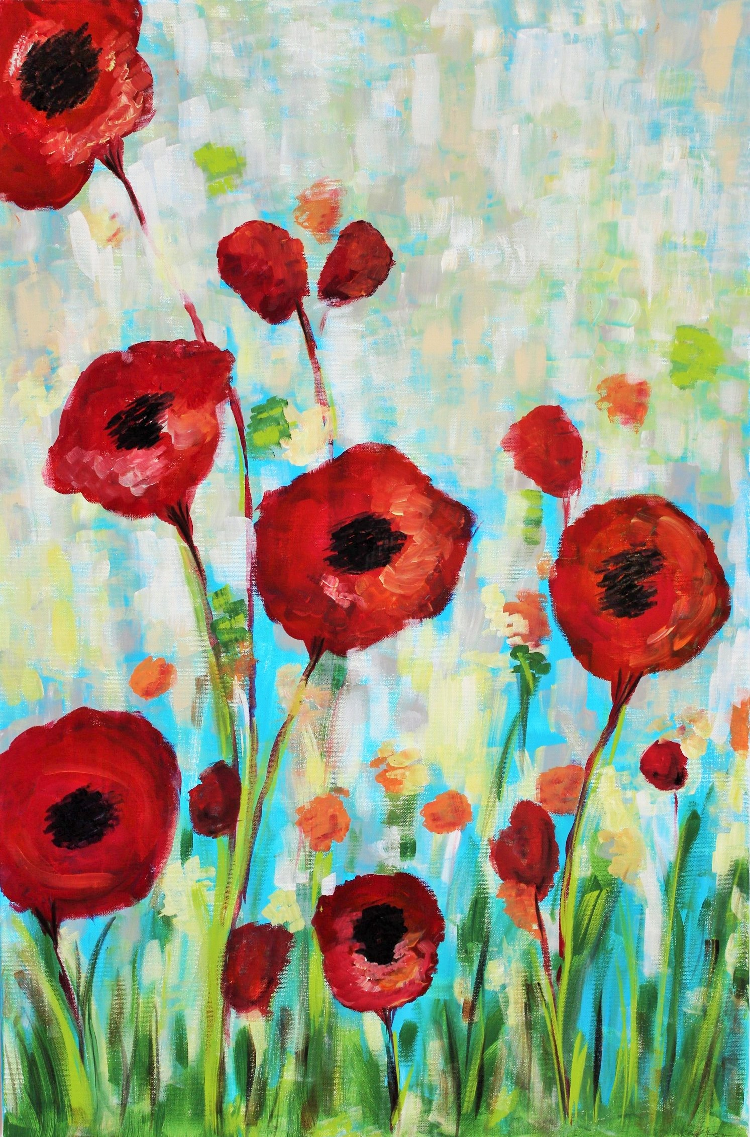 Field of Poppies-SOLD