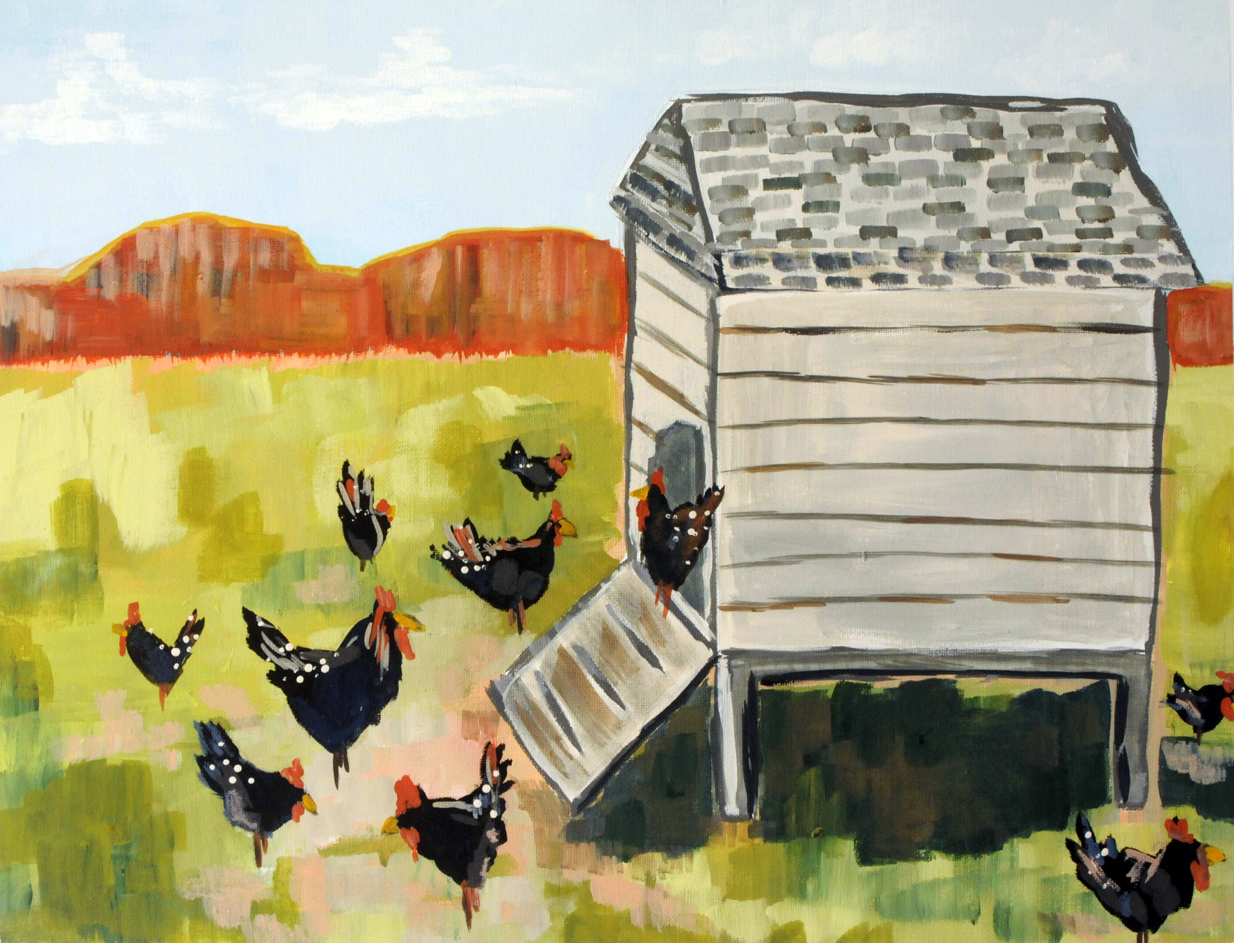 Hen House-SOLD