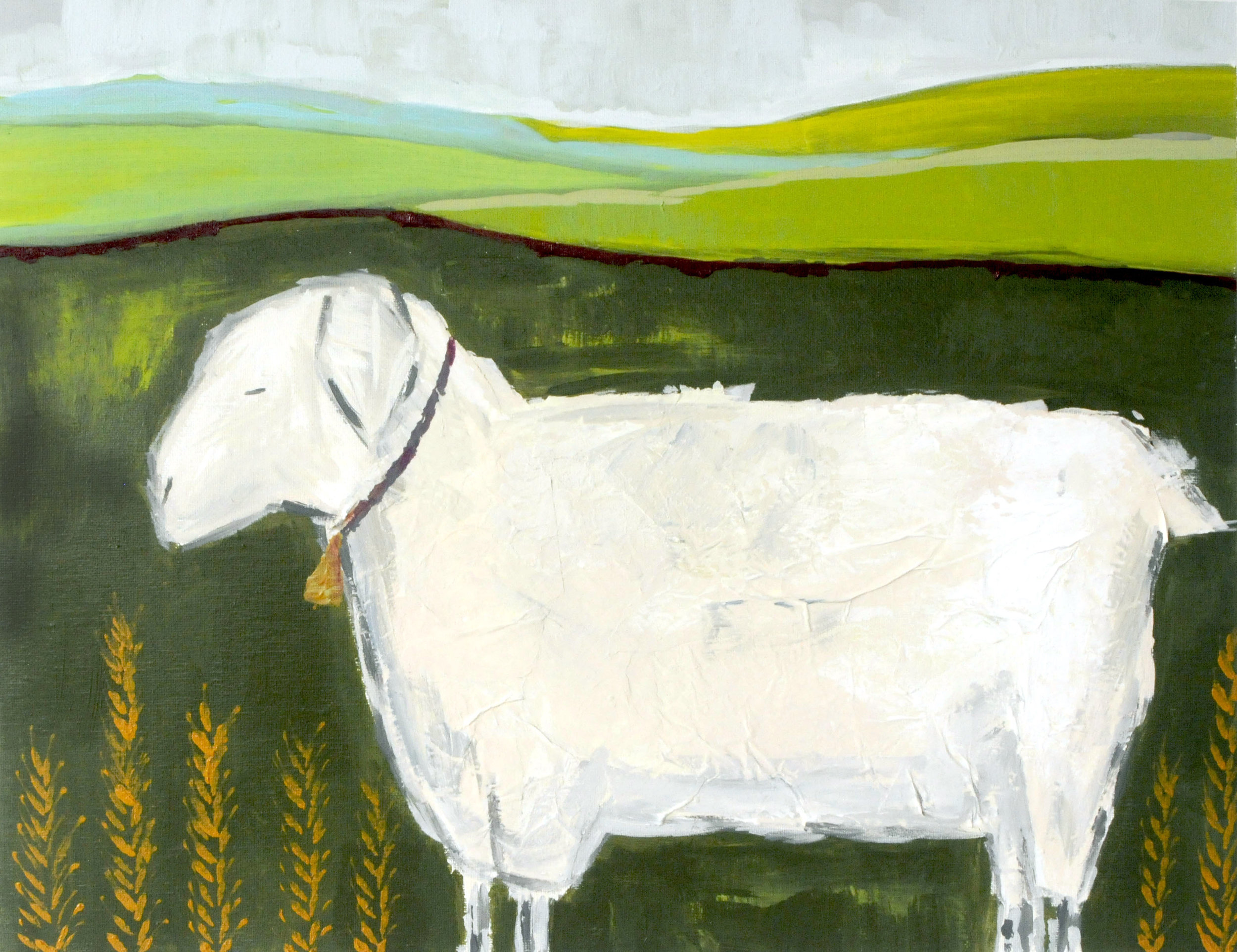 Mama Sheep-SOLD
