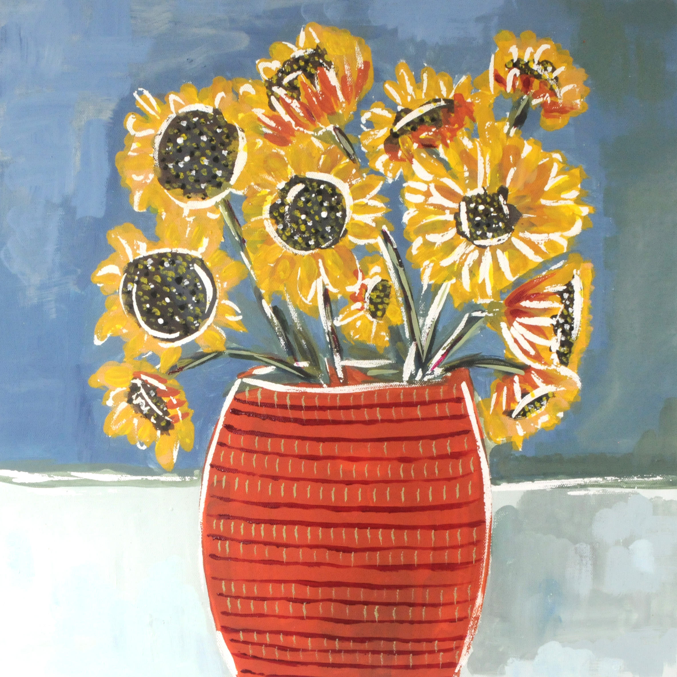 Sunflowers-SOLD