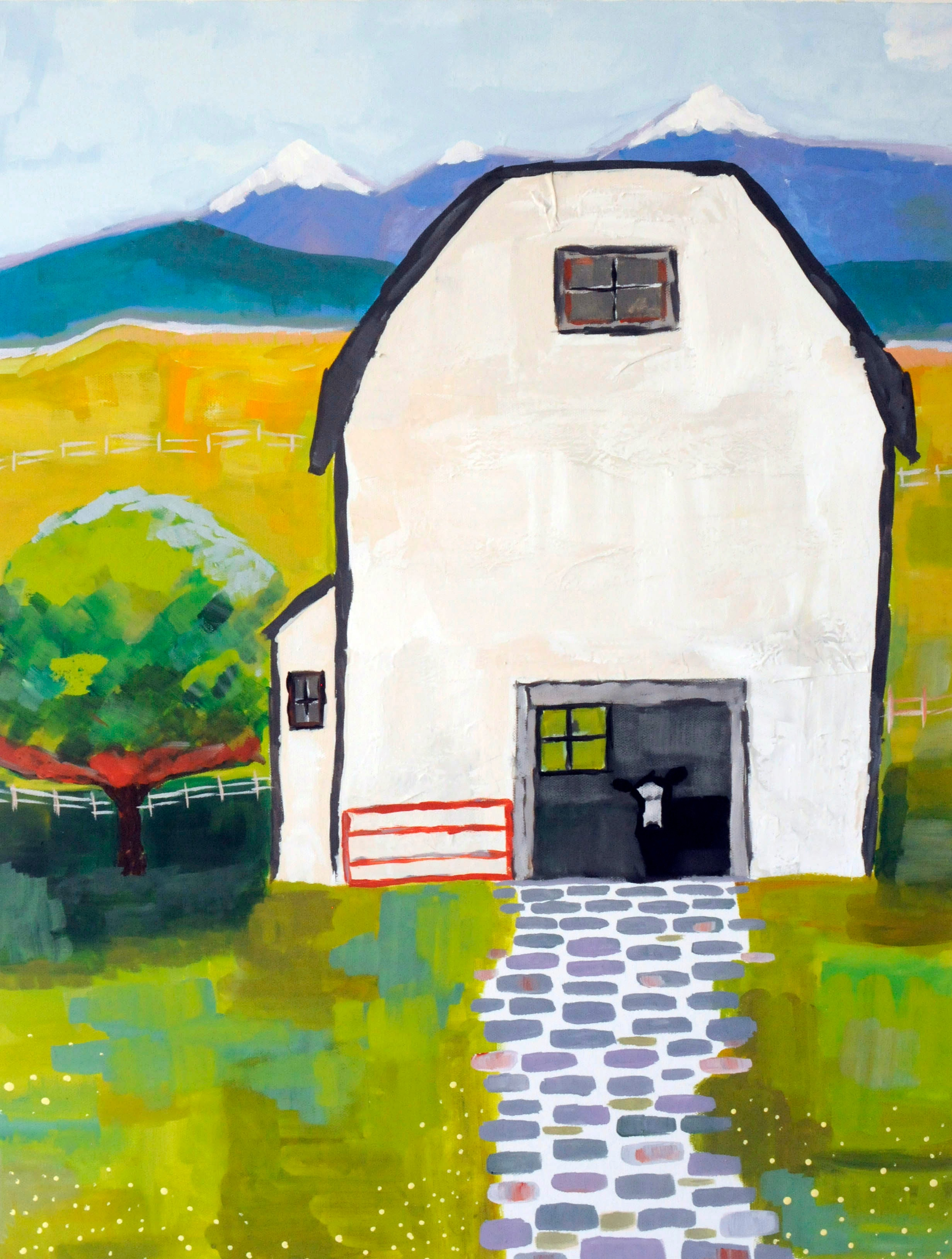 White Barn- SOLD