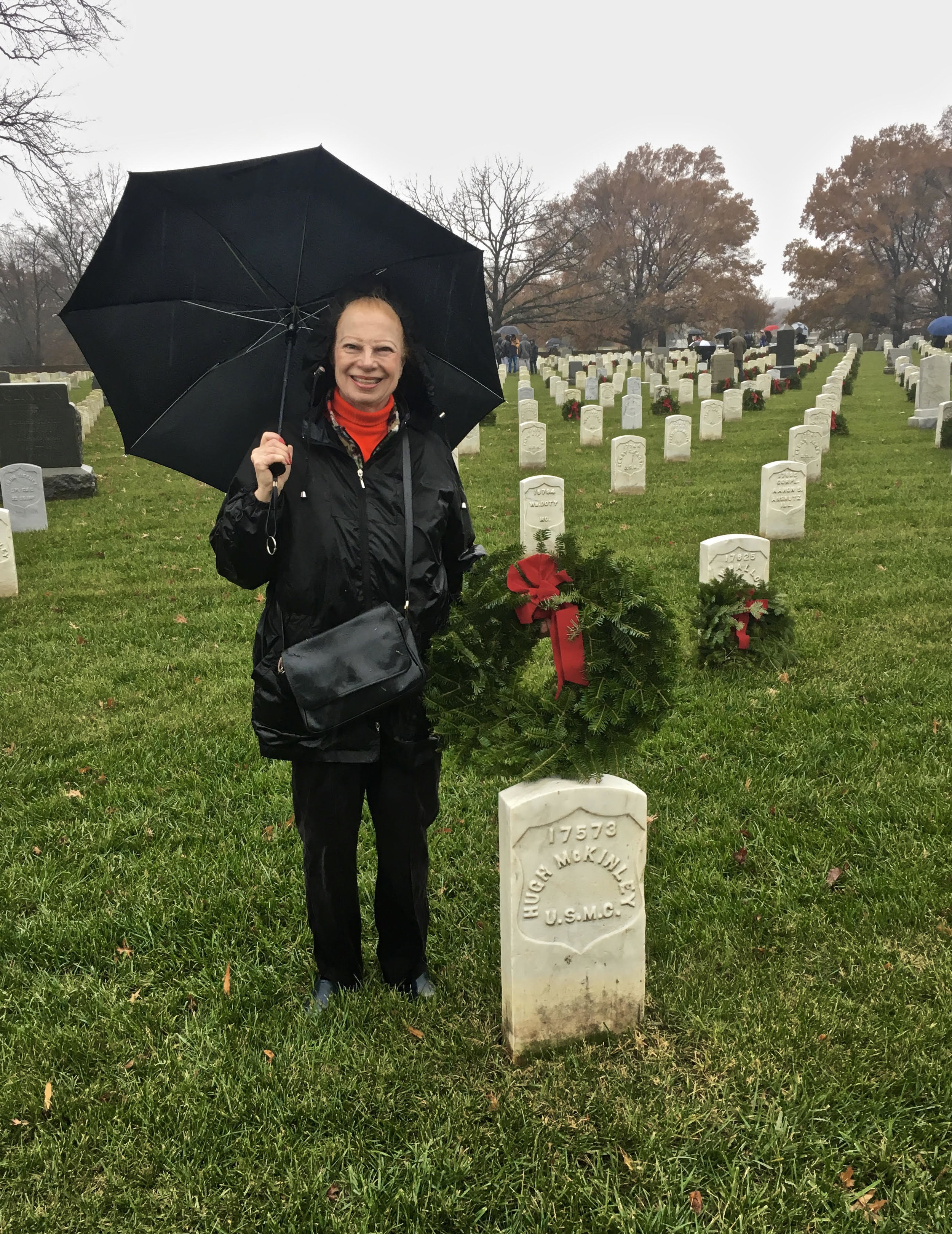 Wreaths Across America, Arlington National Cemetery