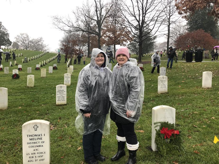 Freedom Hill Daughters participate in Wreaths Across America, Arlington National Cemetery