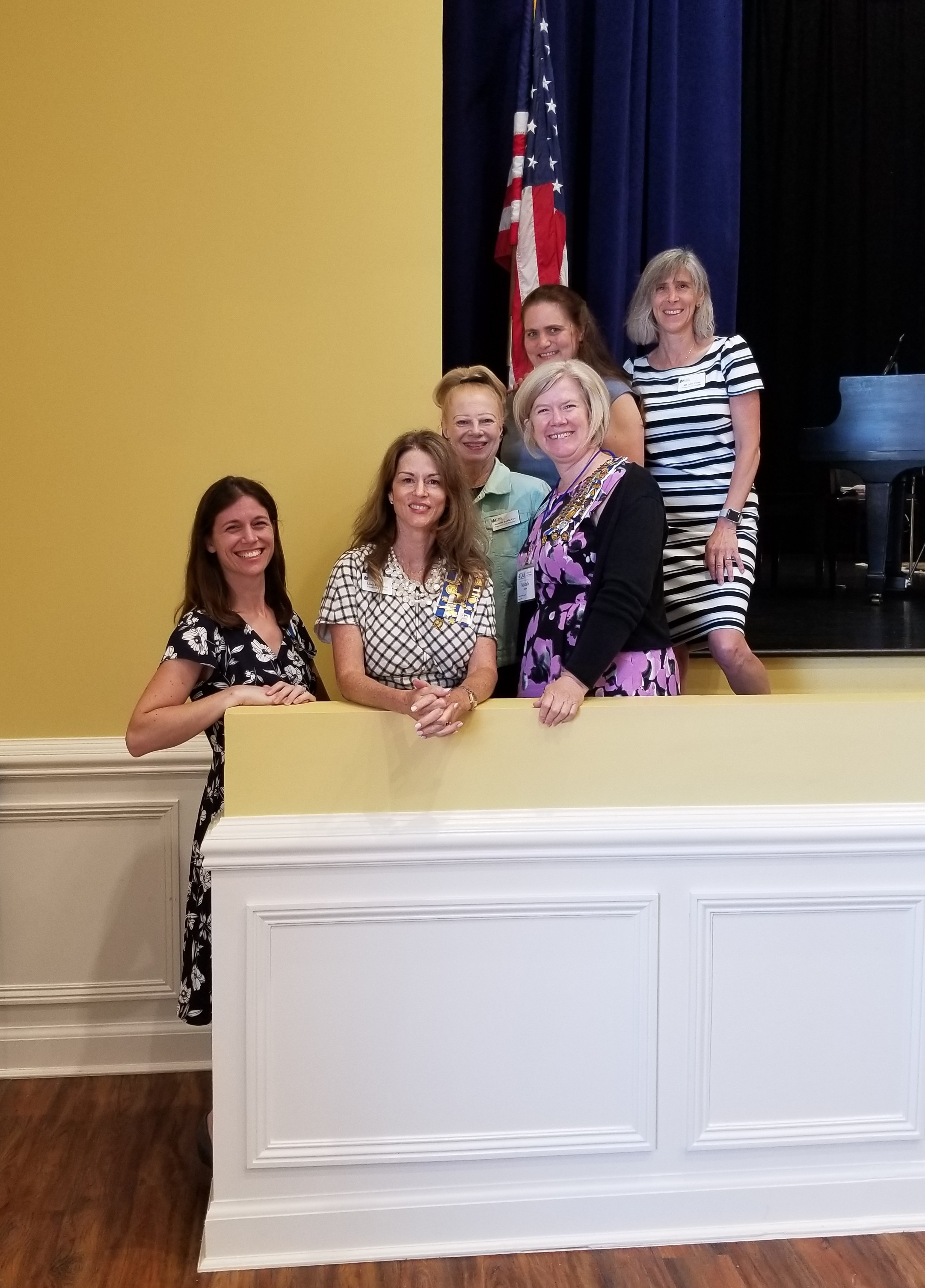 Freedom Hill Daughters attend the District Meeting. July 2019