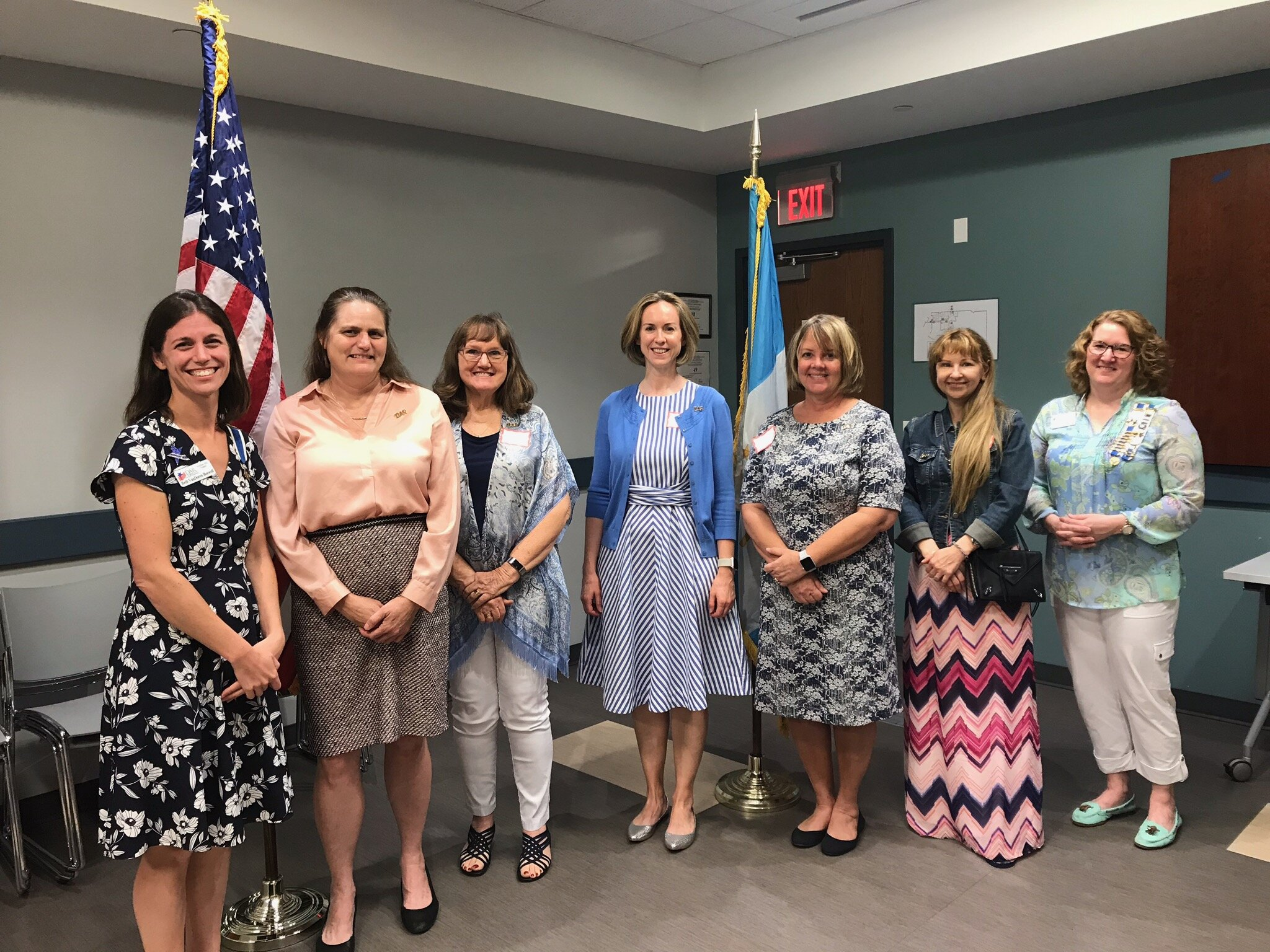 Freedom Hill Chapter welcomes five new Daughters at our monthly meeting. September 2019