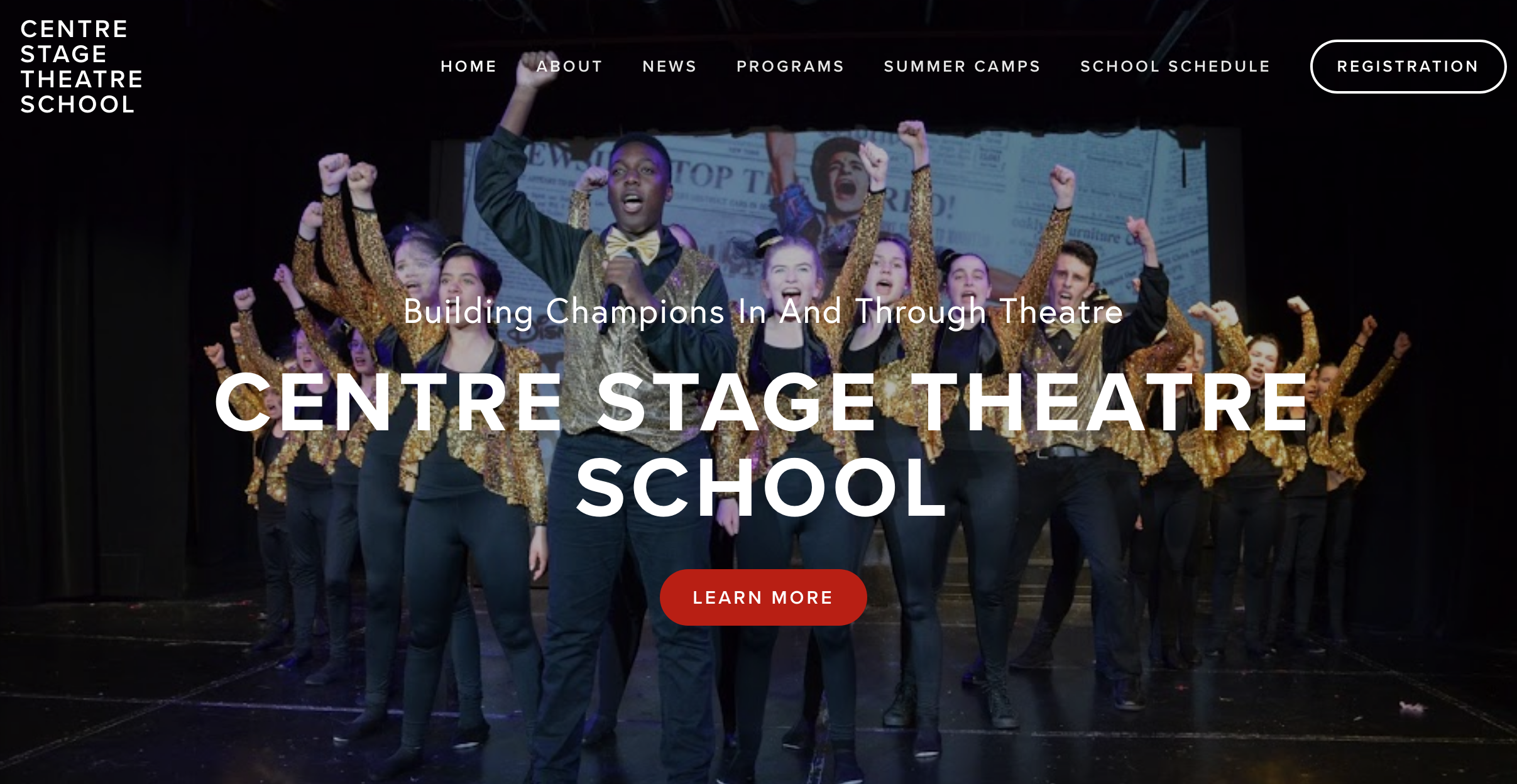 Interested in Theatre Programming? Visit our partner organization: Centre Stage Theatre School. -