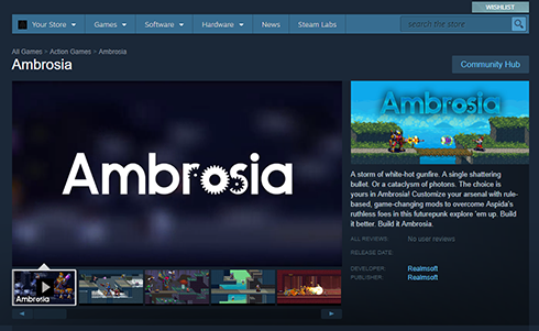 Ambrosia: now on the internet! Again!