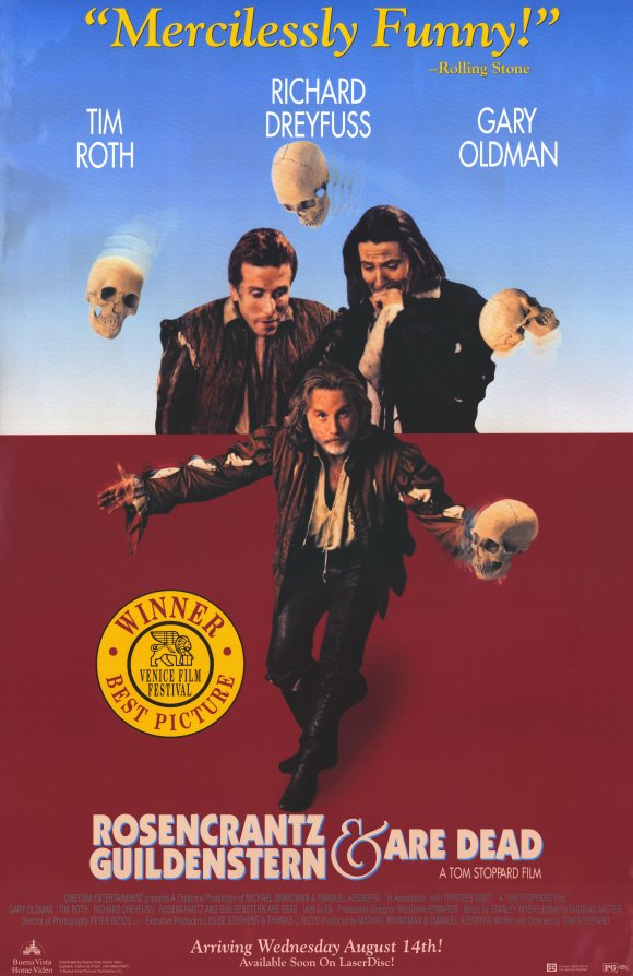 Rosencrantz & Guildenstern Are Dead - poster.jpg
