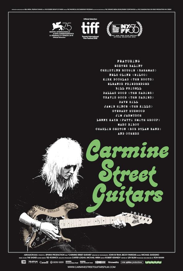 Carmine Street Poster