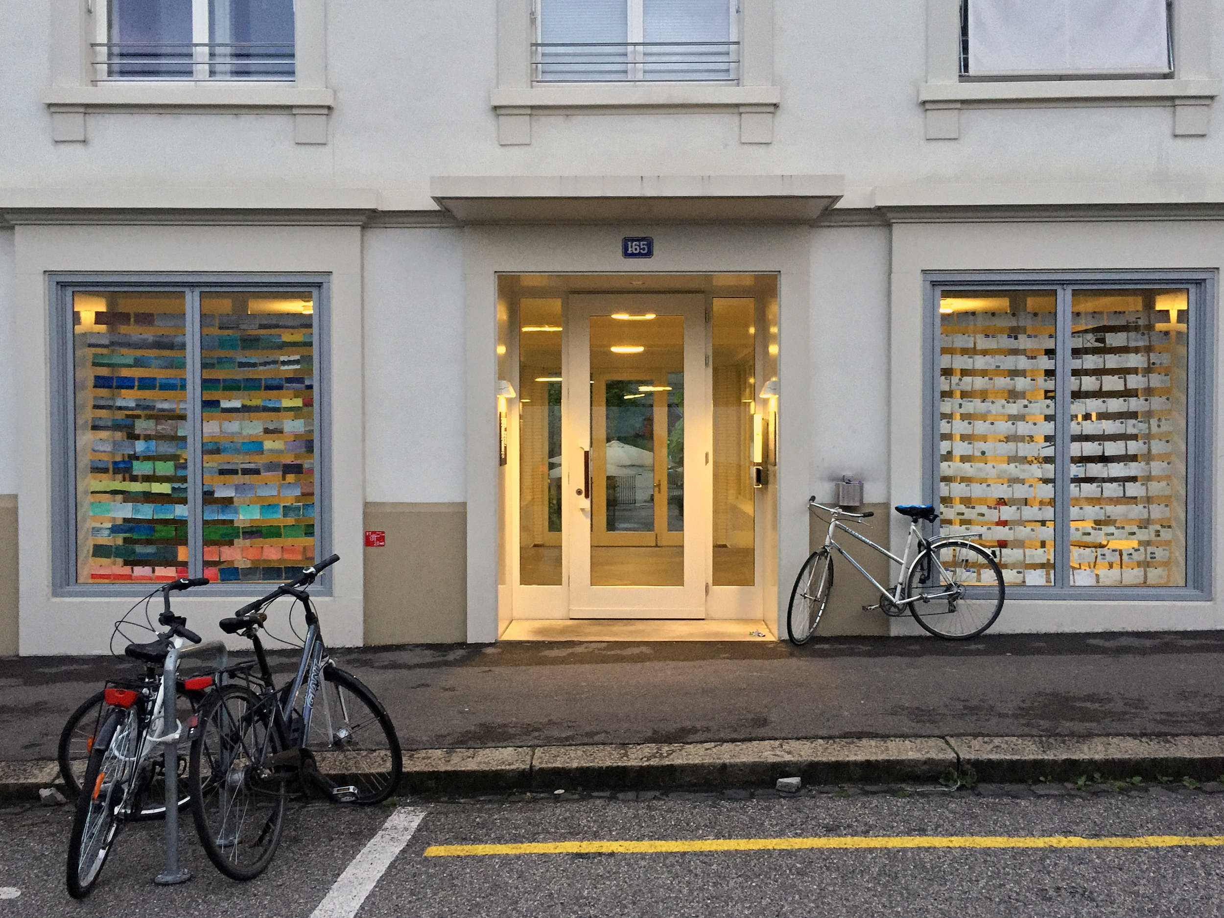 Street-view of Wish You Were Here at MUWO Basel June 2015