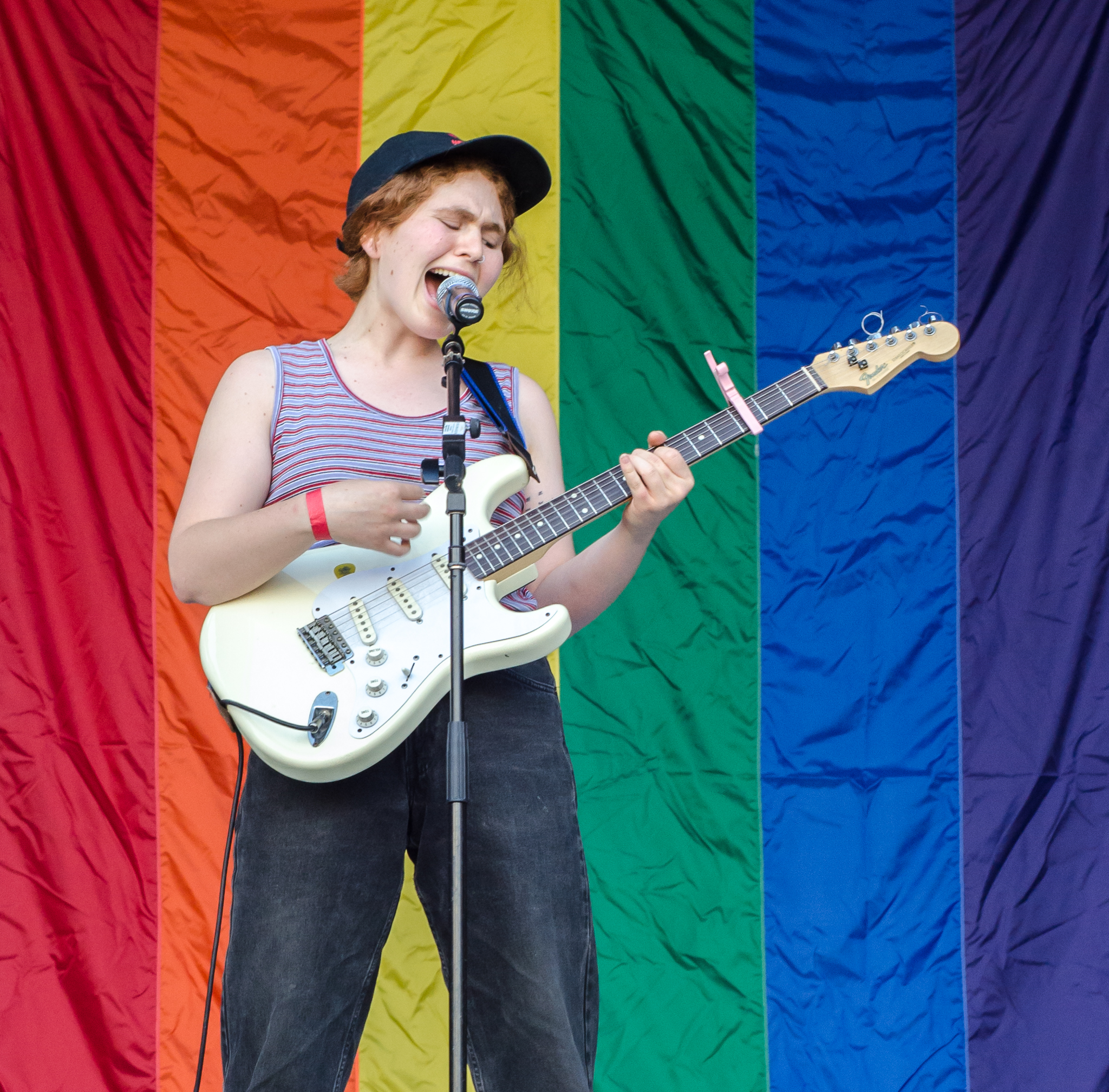Girlpool at Lancaster Pride 2016 - Photography by Zac Evans