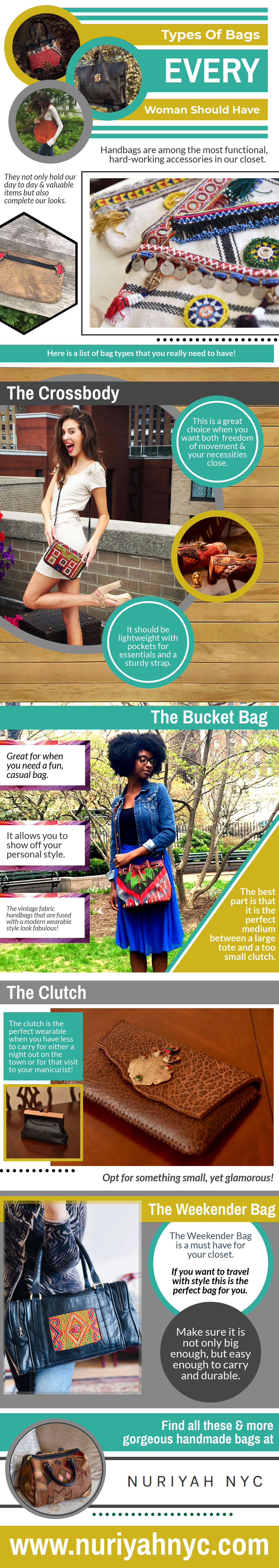 Types of Bags Every Woman Should Have