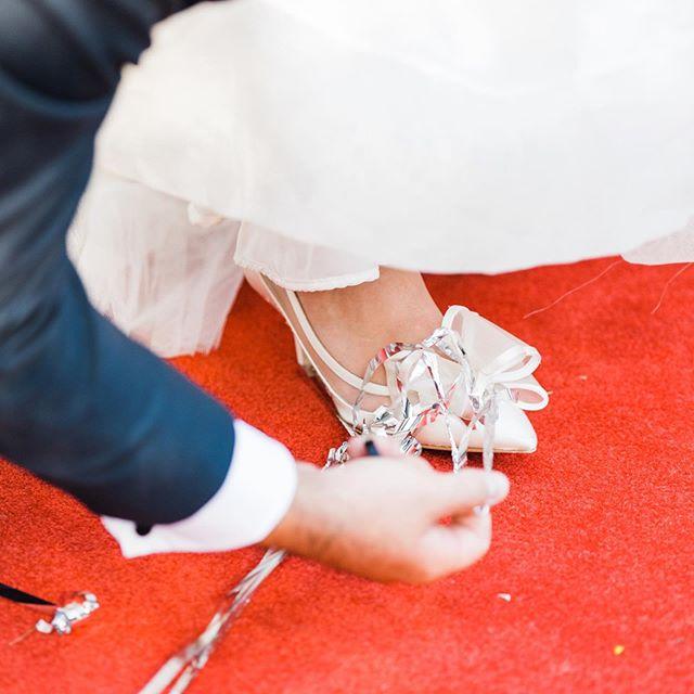 Roll out the red carpet. Cinderella has found her prince.  For the record - chivalry is not dead. Ladies, Mr. Right will treat you right!  And to you guys out there - Chivalry is sexy, own it!  #kcwedding #kansascityweddings #weddingshoes #weddingsendoff #loveandmarriage #kcweddingplanner #brideandgroomportrait #mrandmrstobe #ido #idoday #marriedinkc #happilyeverafter #wedo #kcweddingcoordinator #engagedinkc #instaweddingday #instaweddings #theknotpro #bestofkc #igkc #fbf