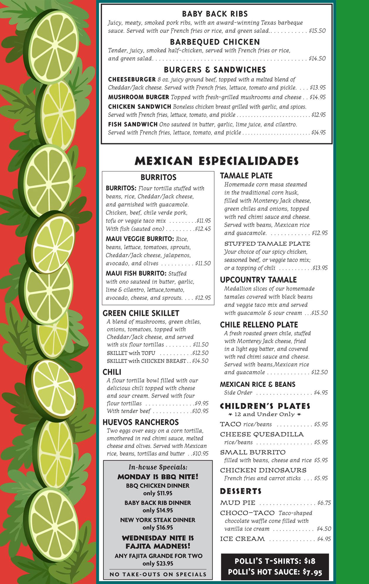 Pollis Mexican Restaurant Lunch Menu Page 3.jpg