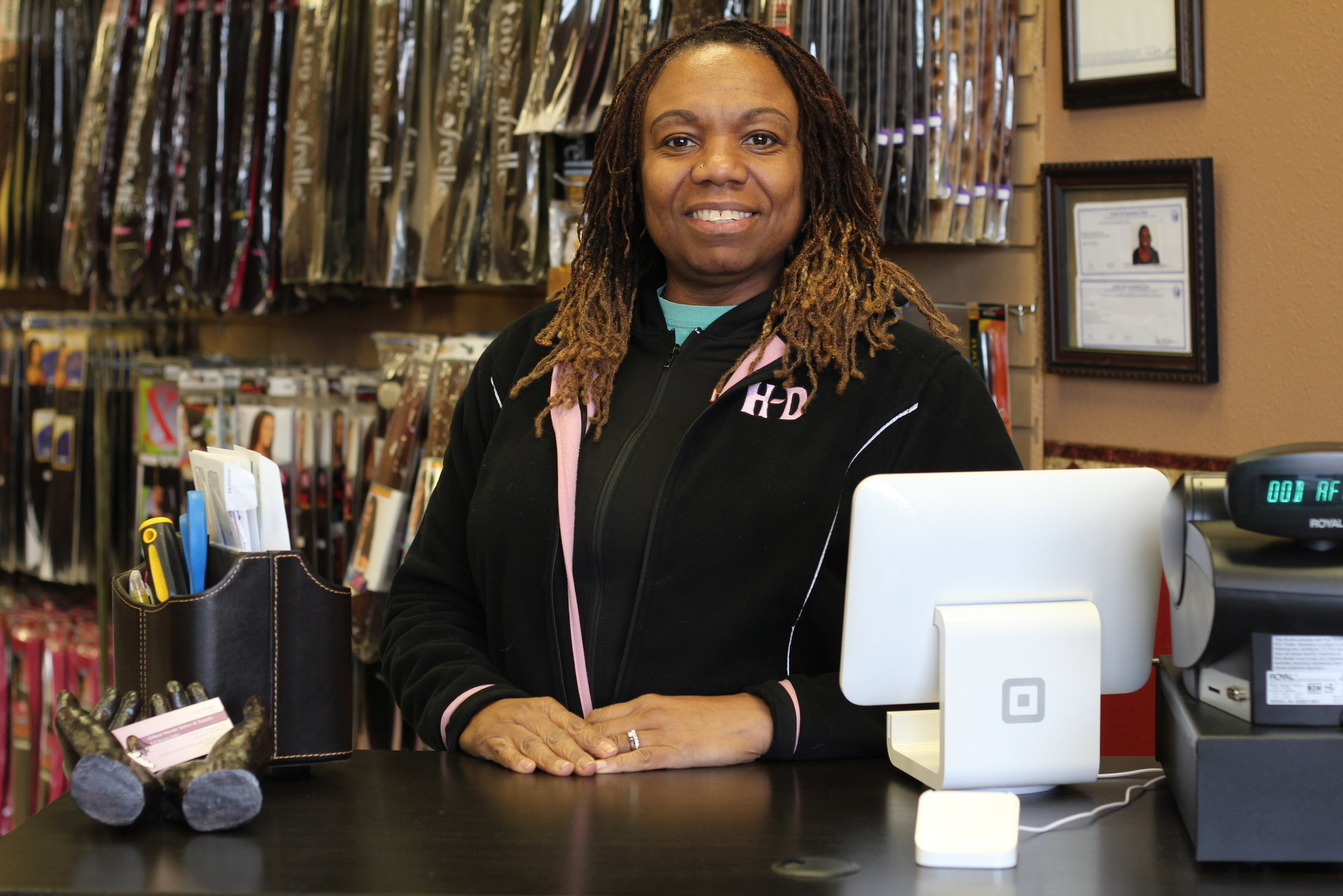 Please contact Linda Wright, owner of Gifted Hands Salon and Supply, for questions, appointments, and other services. -