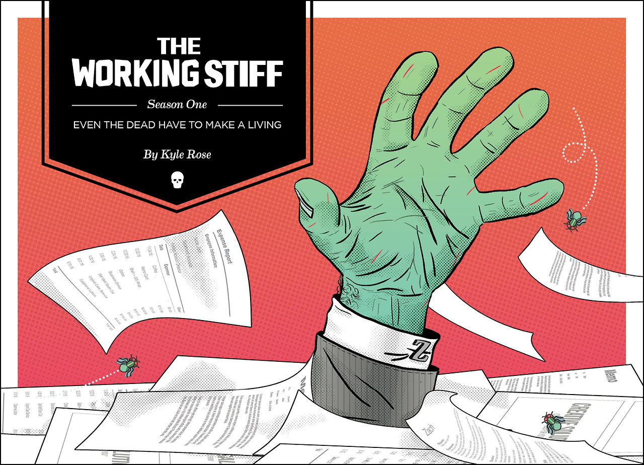 + Pick up The Working Stiff: Season One in Print!